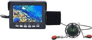 GRXXX 4.3 Pulgadas Underwater HD Fish Finder 1000TVL Cámara Visión Nocturna 175 Grados Cámara de Rueda de mar Pesca DVR Vi...