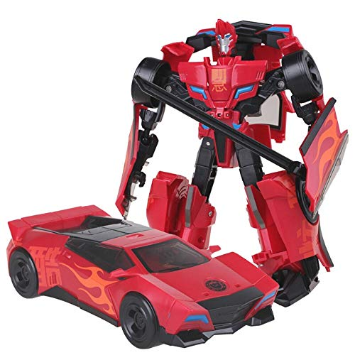 WEIJIANG Transformer Animated Version Red Sideswipe W8018I