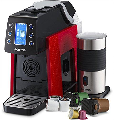 Gourmia GCM5000 Coffee Machine, Red