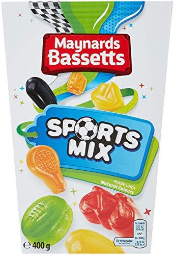 Maynards Bassetts Sports Mix Sweets, 400 g