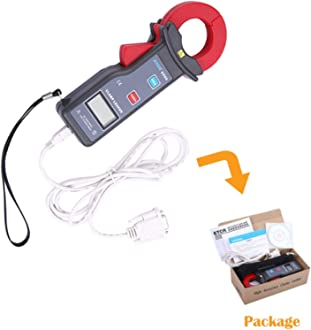 YFYIQI ETCR007AD AC DC Clamp Leakage Current Probe Sensor Transducer Clamp Meter Sensor with Output Connector BNC Plug Clamp CT Size 7mm