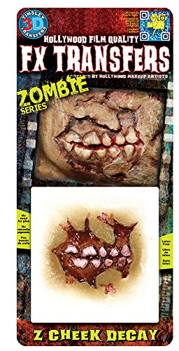 FX Transfers - Zombie Series 3D FX Zombie Decay Maquillage