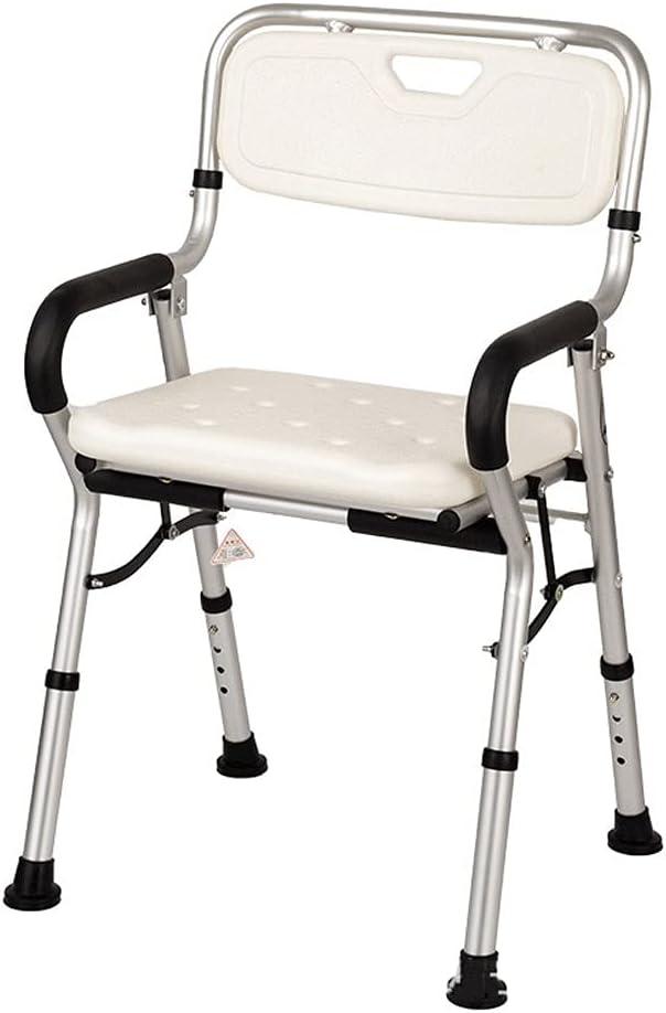 ZQYYUNDING Quality inspection Shower Chair Foldable Aluminum overseas Al Stool Toilet