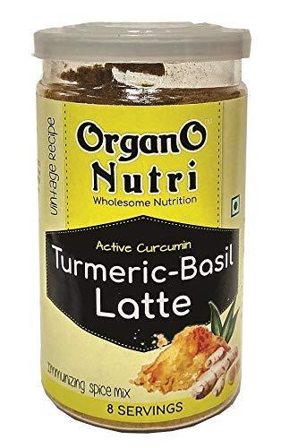 Organonutri Turmeric - Basil Latte 100 Gm