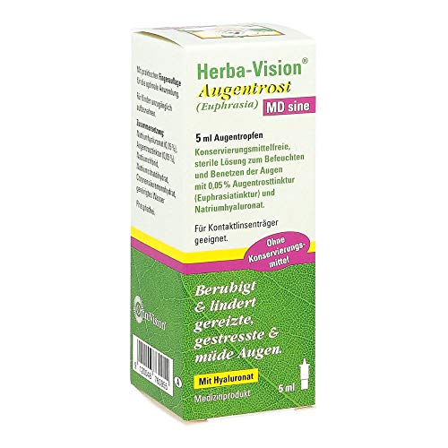Herba-Vision Augentrost MD sine Augentropfen, 5 ml
