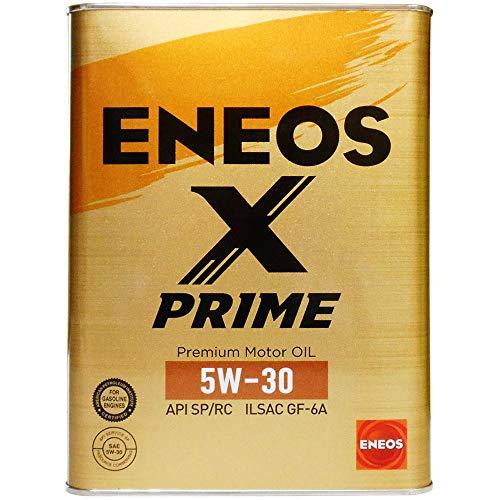 ENEOS X PRIME (エックスプライム) エンジンオイル 5W-30 SP/RC GF-6A (100%化学合成油) 4L缶