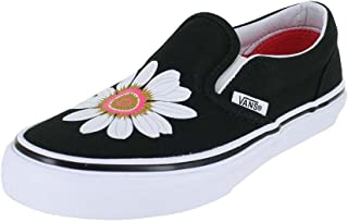 0b41d32bb03caa Vans Girls Kids Classic Slip ON Flower Petals Black Paradise Skate Shoe