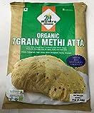 ORGANIC 7GRAIN METHI ATTA 1KG (2.2LB)