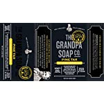 Pine Tar Bar Soap by The Grandpa Soap Company | The Original Wonder Soap |Vegan, 3-in-1 Cleanser, Deodorizer… 3
