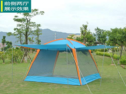 AOGUHN tent - Ultralarge 5-8 Persoon Gebruik Waterdichte Winddichte Camping Tent Grote Gazebo Beach Tent Tente Party Tent
