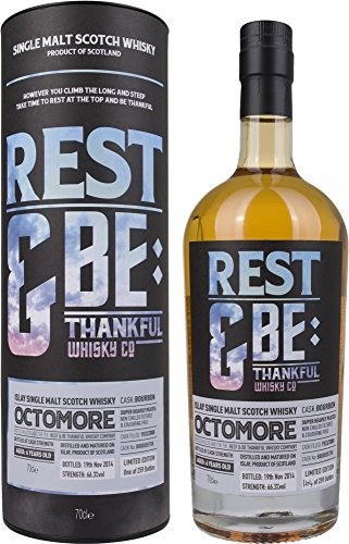 Rest & Be Thankful Whisky Company Rest & Be Thankful Octomore 6 Years Old Bourbon Cask Limited Edition - 700 ml