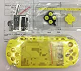 Replacement Full Housing Shell Case Cover with Buttons Screws For PSP 2000 PSP2000-Yellow