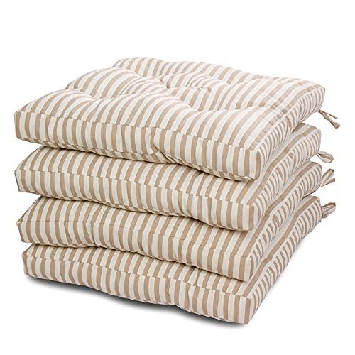 Cojines Para Sillas De Comedor 45 X 45 cojines para sillas  Marca Viste tu hogar