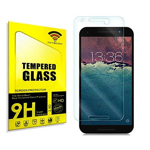 actecom® Protector Pantalla para LG Google Nexus 5X Cristal Vidrio Templado