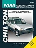 Chilton Total Car Care Ford Escape/Tribute/Mariner, 2001 - 2007 (Chilton's Total Car Care Repair Manual)