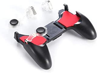 5 in 1 PUBG Moible Controller Gamepad Free Fire L1 R1 Triggers PUGB Mobile Game Pad Grip L1R1 Joystick for iPhone Android Phone
