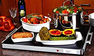 Deluxe Glass Buffet Warming Tray Full size 24