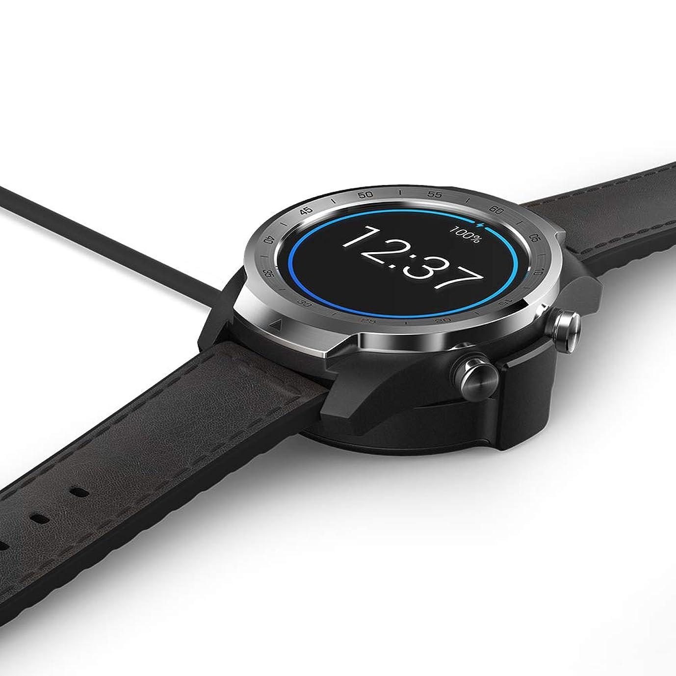 TicWatch Pro充電器 USB充電ケーブル 交換用充電ドック Smartwatchアクセサリー ケーブル TicWatch Pro スマートウォッチ専用