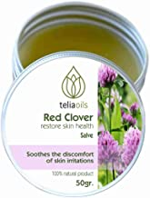 Red Clover salve, 100% Pure & effective, all herbal & organic, Top quality, ideal to cure wounds, eczema, acne, chapped lips and skin problems. Moisturizing, soothing, anti-aging