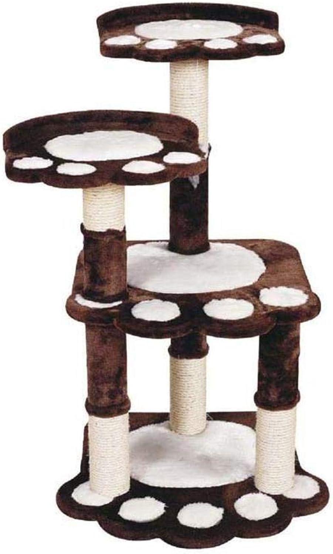 Daeou cat trees towers Sisal Corrugated Cat Scratch Board sisal cat cat Nest Cat Toy 60  58  100cm