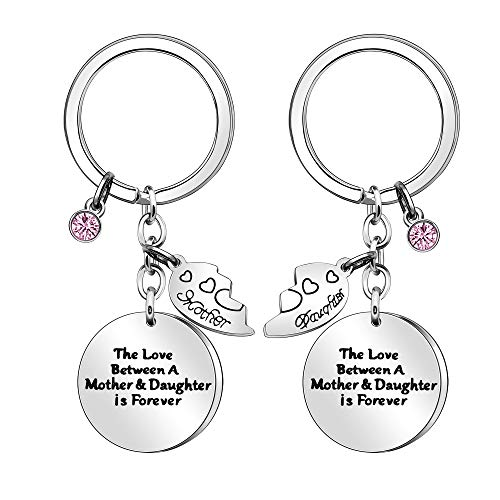 2 llaveros para madre e hija, regalo sorprendente para el día de la madre