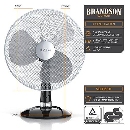 Brandson – Tischventilator 40cm | Tisch kaufen  Bild 1*