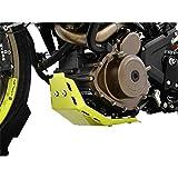 IBEX 10004886 - Alerón de seguridad para motor (aluminio), color amarillo