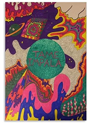 XXUREJK Tame Impala Posters Papery Jigsaw Puzzle 1000 Piezas Juguetes para Adultos Juego de descompresión 38X26CM