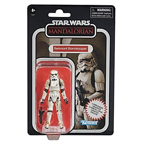 Star Wars Juguete de Remnant Stormtrooper de la Colección Carbonizada Vintage Collection, Figura de 9.5cm de The Mandalorian, para Niños a Partir de 4 Años (Hasbro F14215L0)