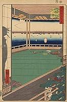 歌川広重日本美術浮世絵名所江戸百景秋の岬ミツキジグソーパズル大人の木のおもちゃ500ピース