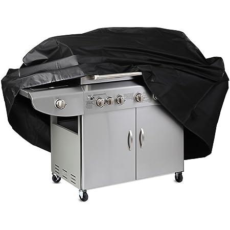 Gasgrill Abdeckung Abdeckhaube BBQ Schutzhülle Regenschutz Haube mit Grillbürste