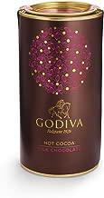 Godiva Chocolatier Milk Chocolate Gourmet Hot Cocoa Canister, Hot Chocolate Mix, 10 Servings, 13 Oz