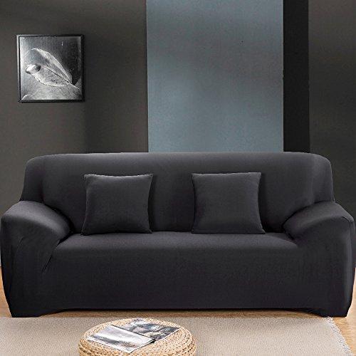 Bluecookies funda de sofá elástica tela de poliéster Spandex–3cojín sofá funda protectora pantalla EASY FIT