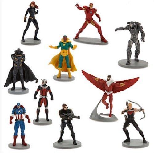 Captain America: Guerre Civile De Luxe 10 Figurine Set De Jeux