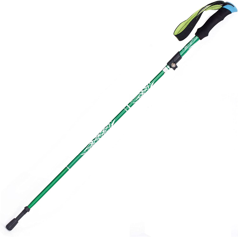 VVJYJF Trekking Poles Aluminum Hiking Walking Seasonal Wrap Introduction with Gr Max 76% OFF EVA Sticks