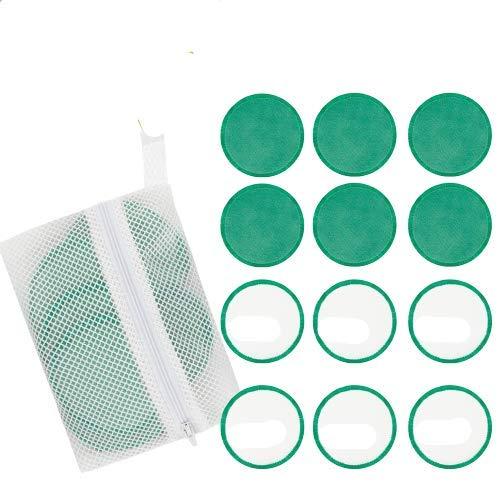 Abschminkpads, Lyeiaa Abschminktücher Mikrofaser zum Abschminken, Hypoallergene Microfaser...