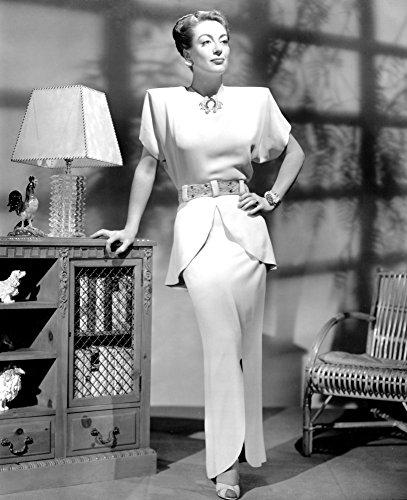 Posterazzi EVCPBDJOCREC028H Joan Crawford 1940S Photo Print, 8 x 10
