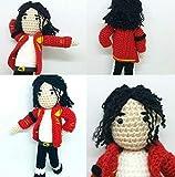 Muñeco Michael Jackson hecho a mano y de lana. El rey del pop ....