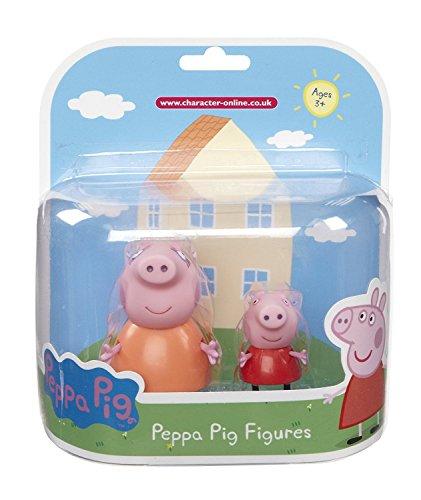 Peppa Pig - lot de 2 figurines peppa