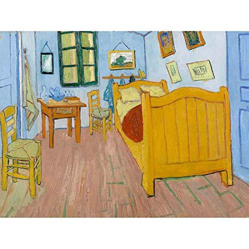 Van Gogh The Bedroom Wall Art Print Mur Décor 30 x 41 cm