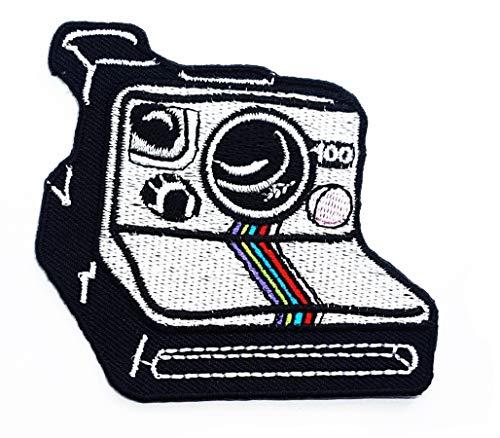 Retro Camera Polaroid Photography Cartoon Children Kid Patch Clothes Bag T-Shirt Jeans Biker Badge Applique Iron on/Sew On Patch