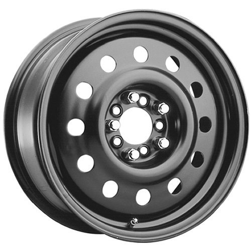 Pacer Black Modular 16 Black Wheel/Rim 4x100 & 4x4.5 with a 41mm Offset and a 72 Hub Bore. Partnumber 83B-66541