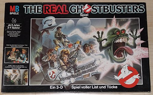 The Real Ghostbusters. Ein 3-D Spiel voller List und Tücke.