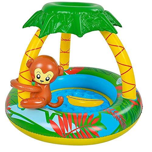 Piscina para bebés, bañera hinchable para bebés y niños, bañera gruesa con fondo burbuja, bañera de ducha de bebé, ideal para niños a partir de 2 años.