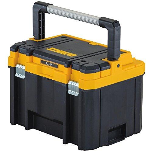 DEWALT TSTAK Caja de herramientas, profundo, mango largo (DWST17814)