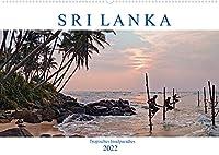 Sri Lanka, tropisches Inselparadies (Wandkalender 2022 DIN A2 quer): Endlose Straende mit Kokospalmen, historische Kultur und gruene Teeplantagen - Sri Lanka verzaubert durch seine Vielfalt. (Monatskalender, 14 Seiten )