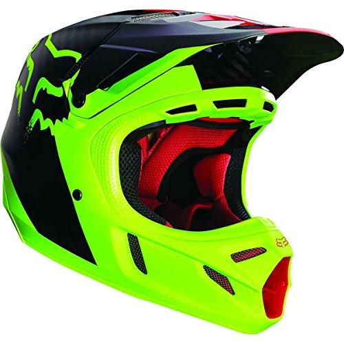 FOX V4 Libra Motocrosshelm 2016, Farbe gelb, Größe XXL(63-65)