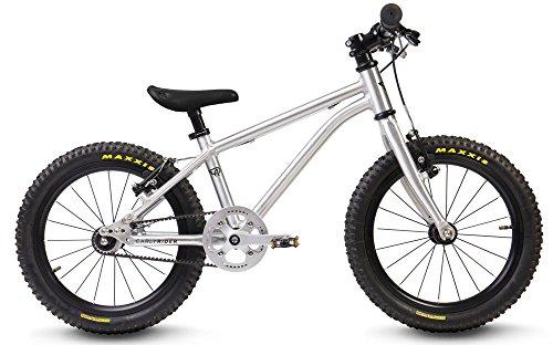 EarlyRider Belter 16 - Bici para infantil color gris, desde 3,5 hasta 6 años