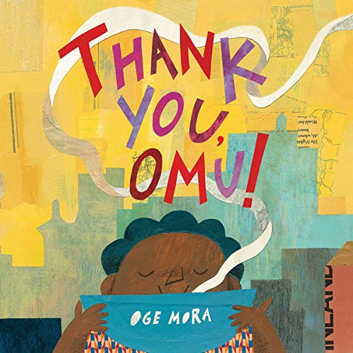 Thank You, Omu! audiobook cover art