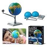 4M Kidzlabs Earth & Moon Model Kit – STEM Toys Science Lab DIY Orbit...